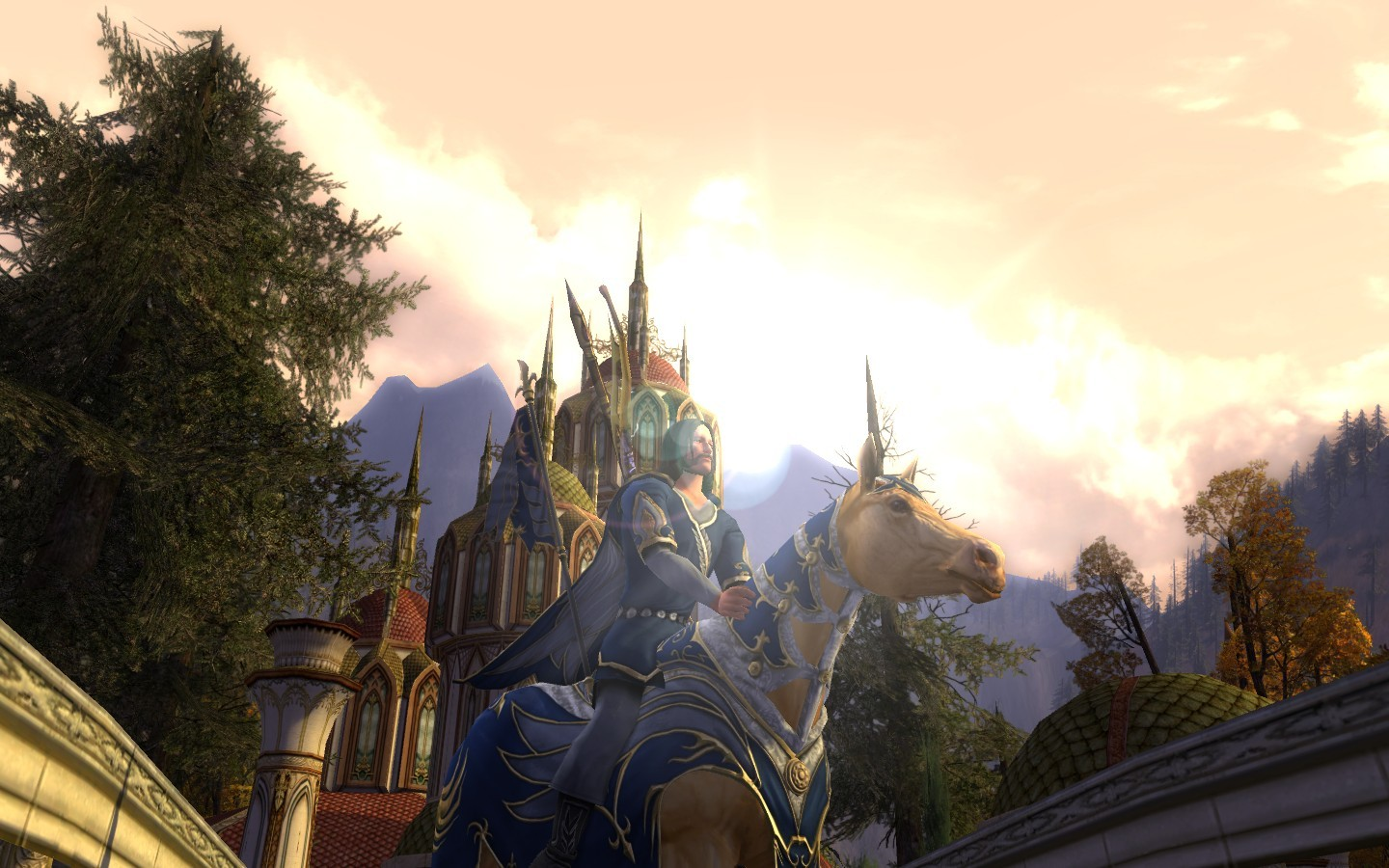 Lord of the Rings Online - My new steed :D