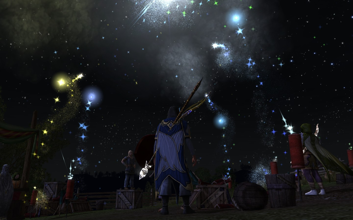 Lord of the Rings Online - Fireworks !