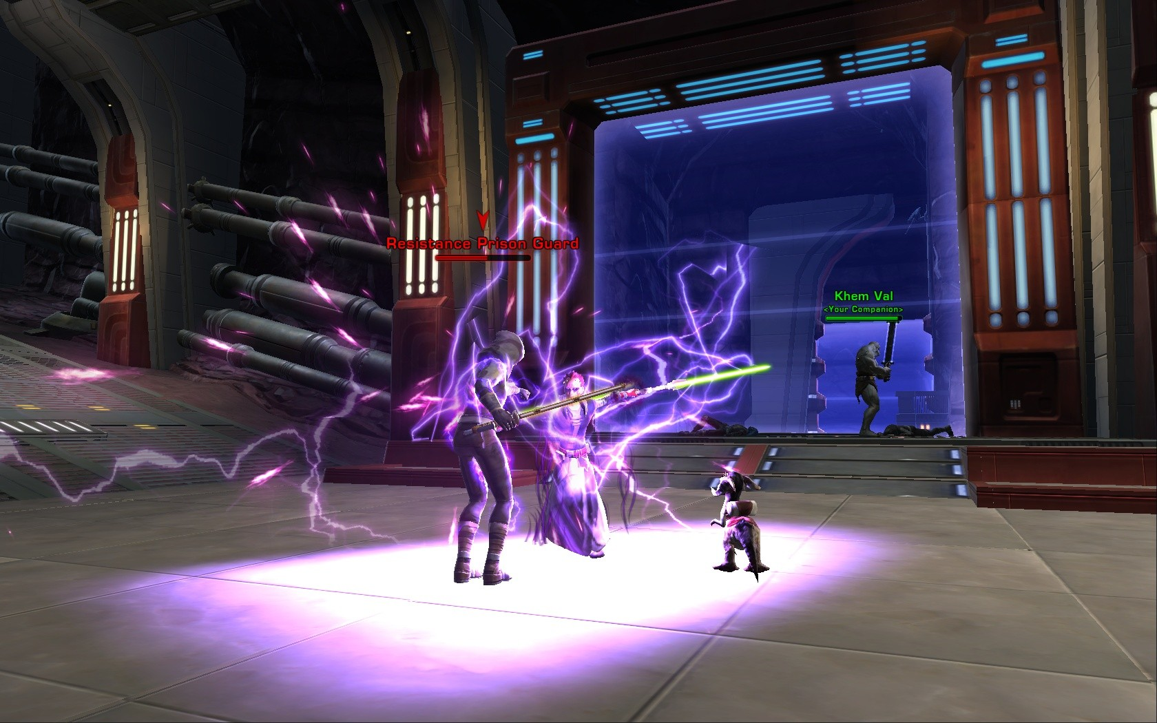 Star Wars: The Old Republic - Ride the lightning!