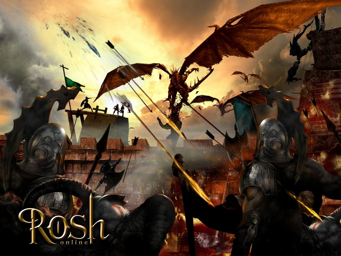 Rosh Online: Dragon!