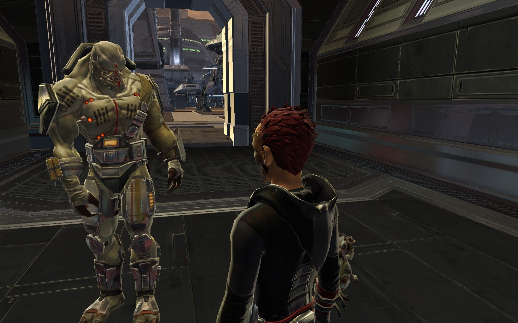 Star Wars: The Old Republic - 12k short and again poor... BUT he is awesome! =D