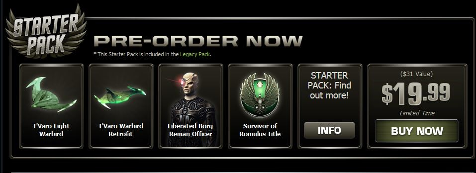 STO Legacy Pack 2