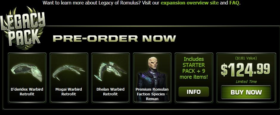 STO Legacy Pack 1