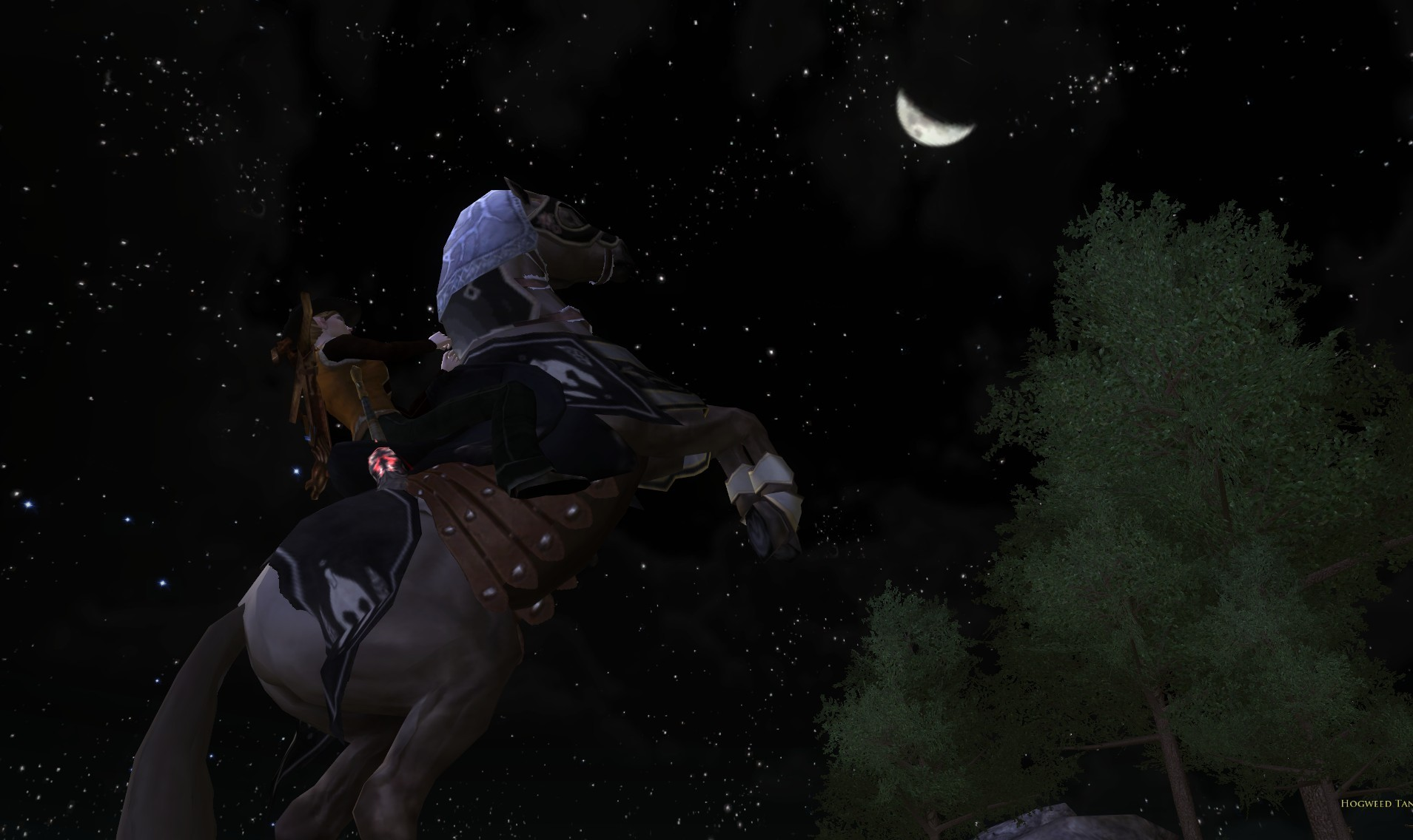 Lord of the Rings Online - Warsteed Rear-Up Emote