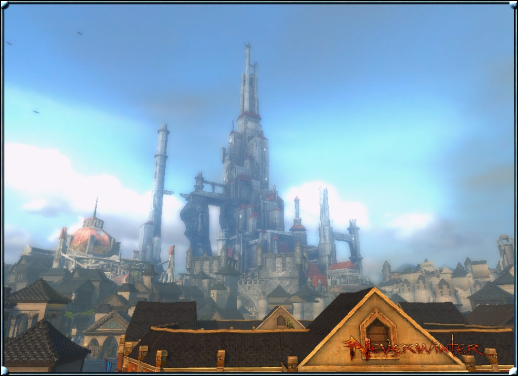 Neverwinter - this took a lot of jumping to get this screenshot.