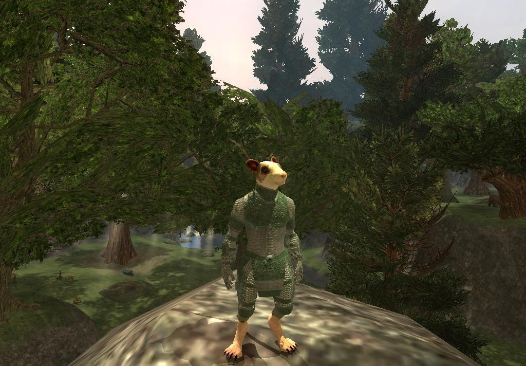 EverQuest II - The woodland ranger