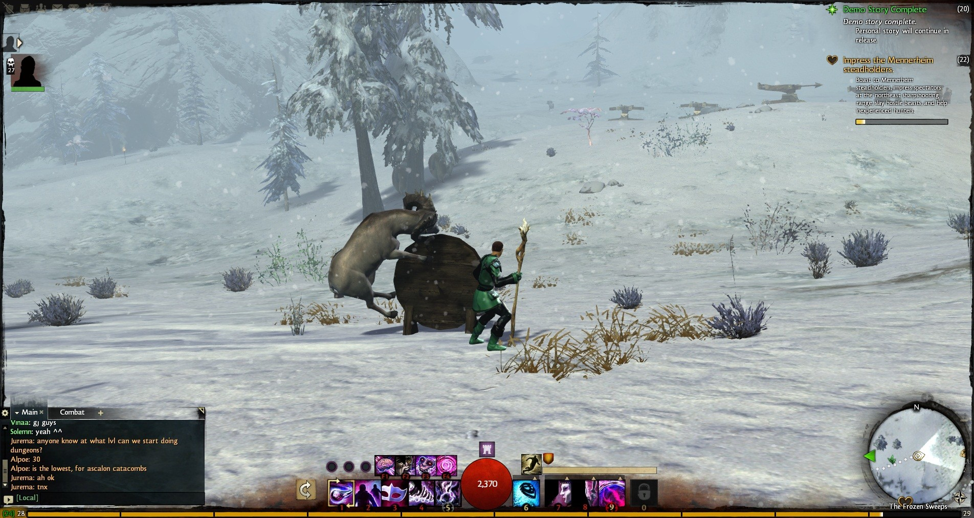 Guild Wars 2 - Apparently yes, Norn beer is THAT good.
