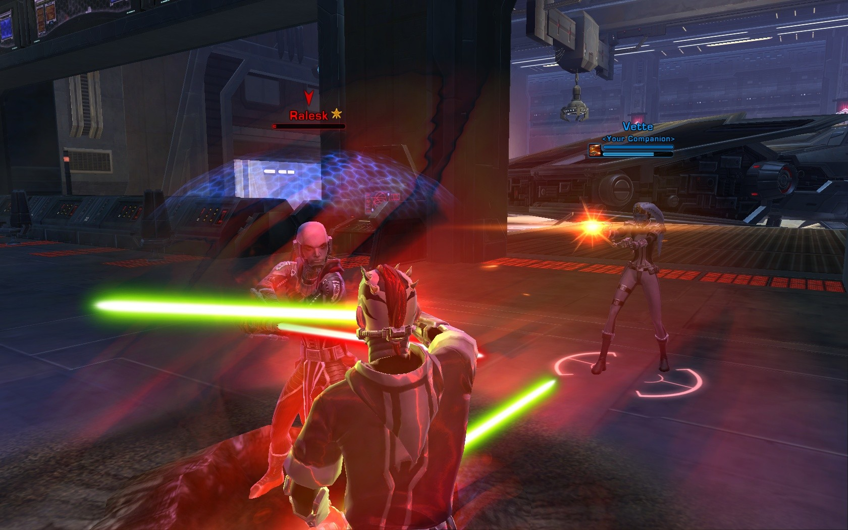 Star Wars: The Old Republic - The ship belong to me!