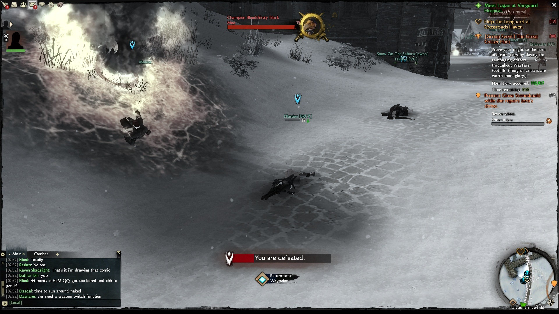 Guild Wars 2 - These moas are beastly.