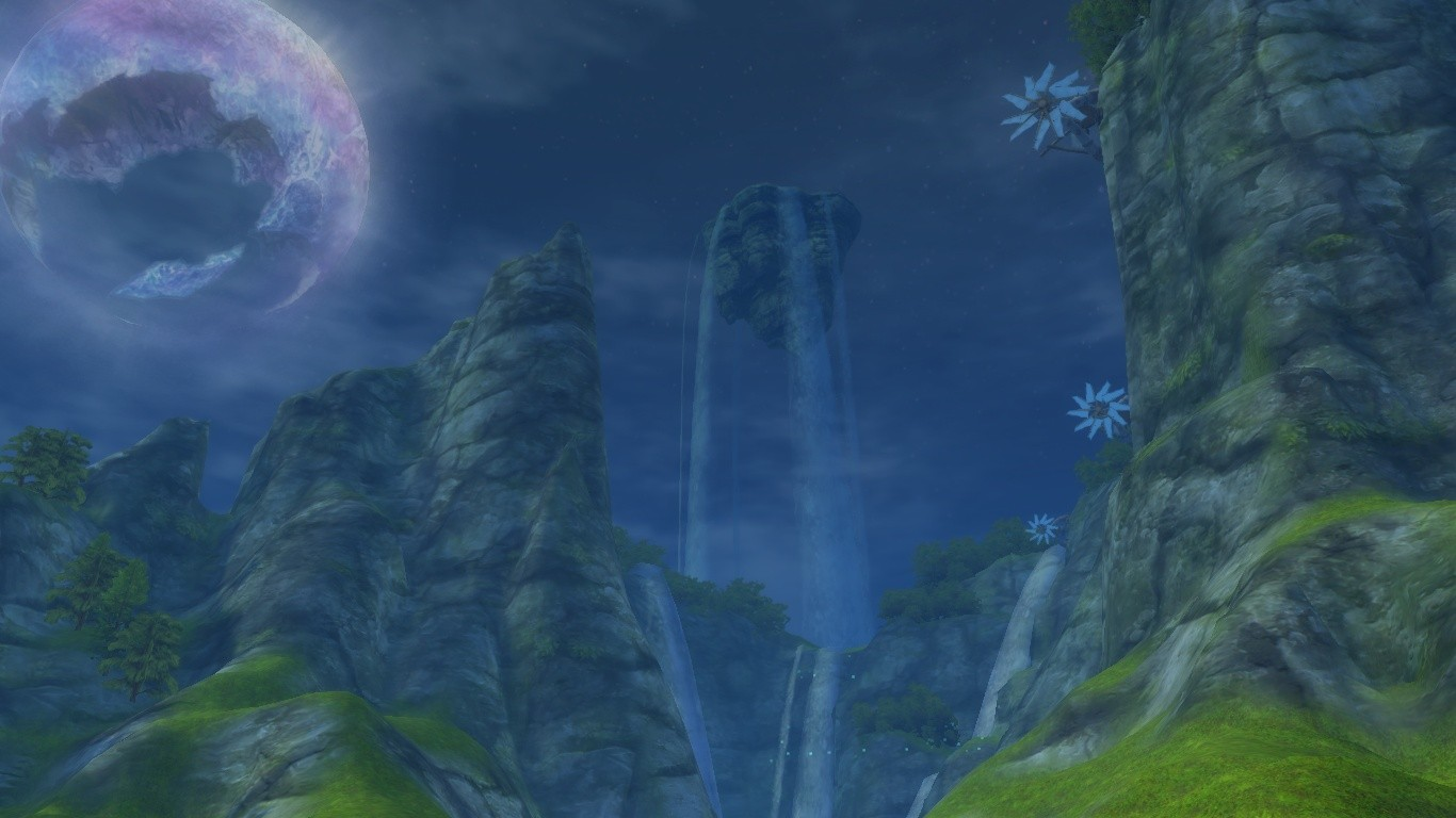 Aion - Aion's landscapes are truly magnificent.