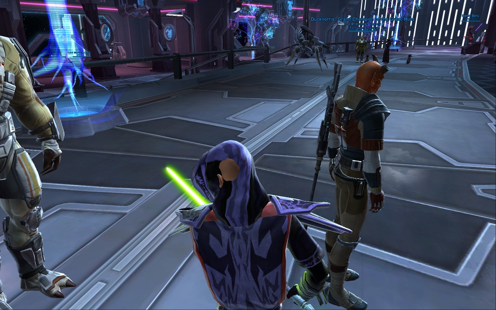 Star Wars: The Old Republic - ...but the hood is bugged! FFS Bioware!