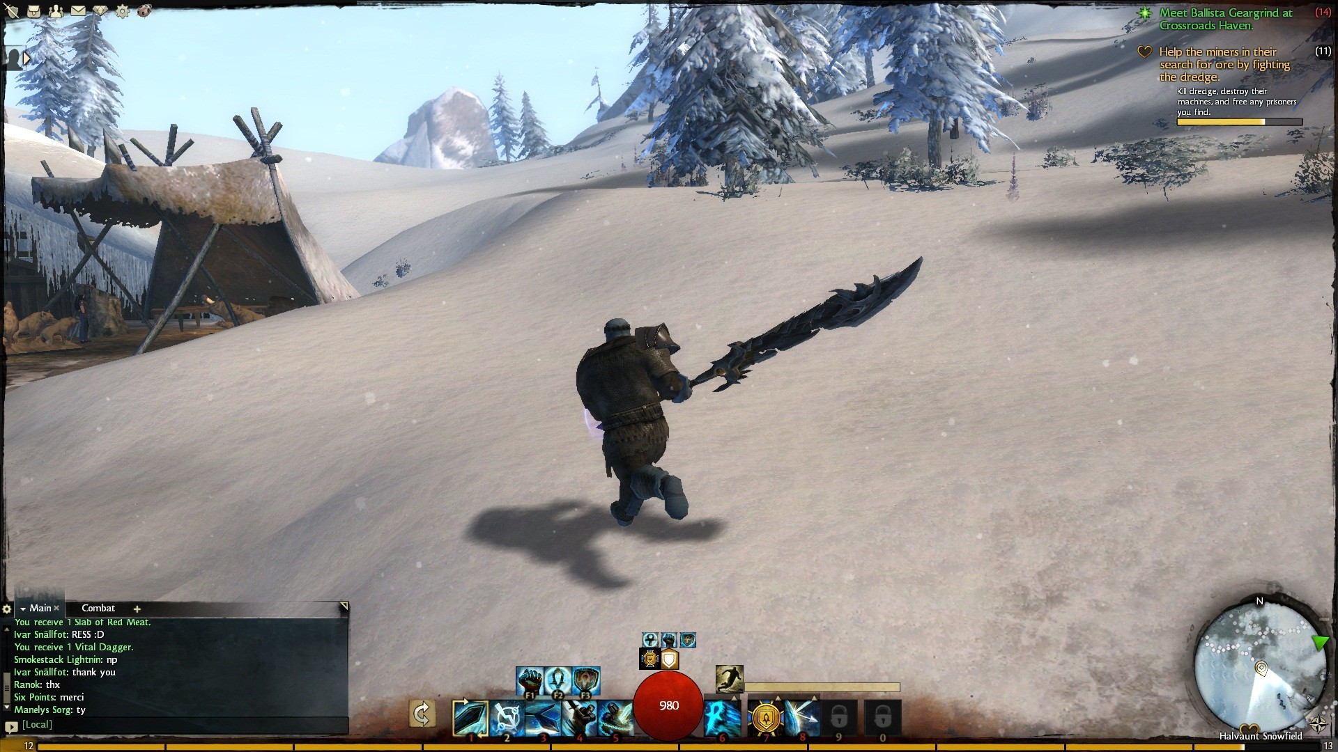 Guild Wars 2 - oversized sword