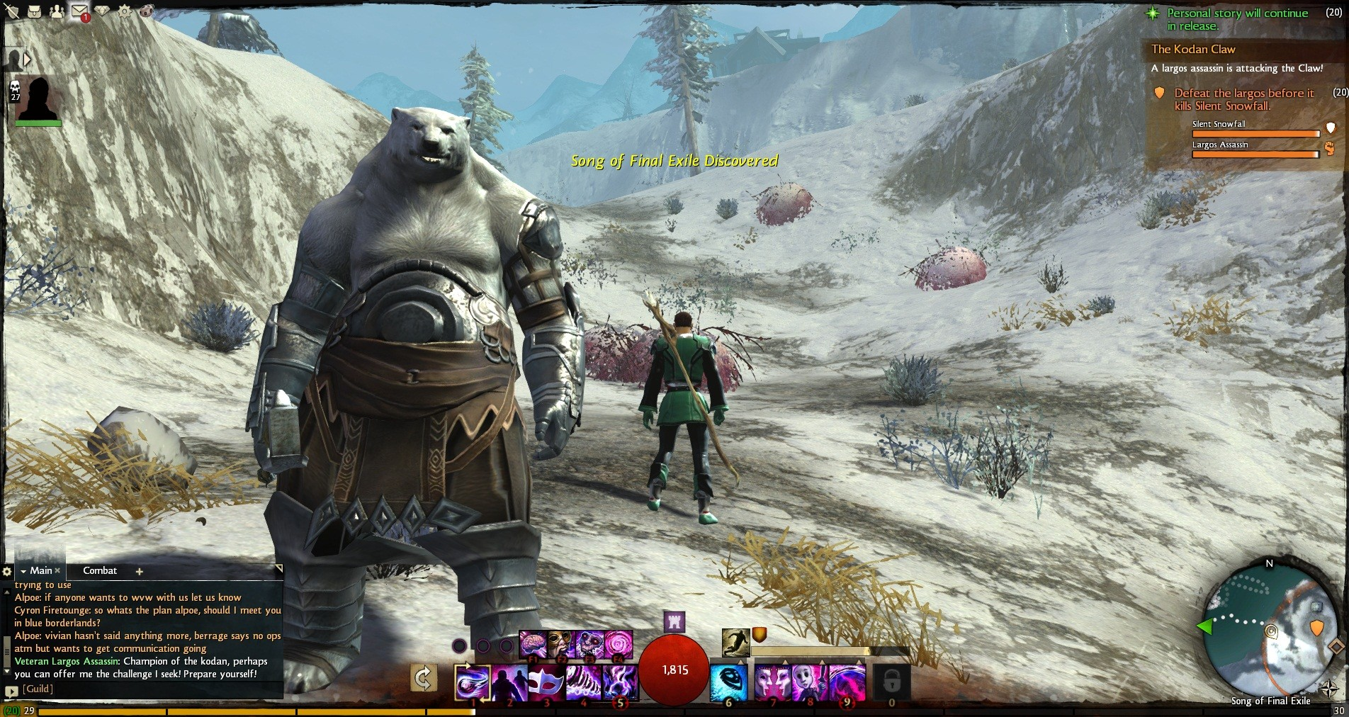 Guild Wars 2 - The Kodan, Norn bear people things. I think. I forget their story.