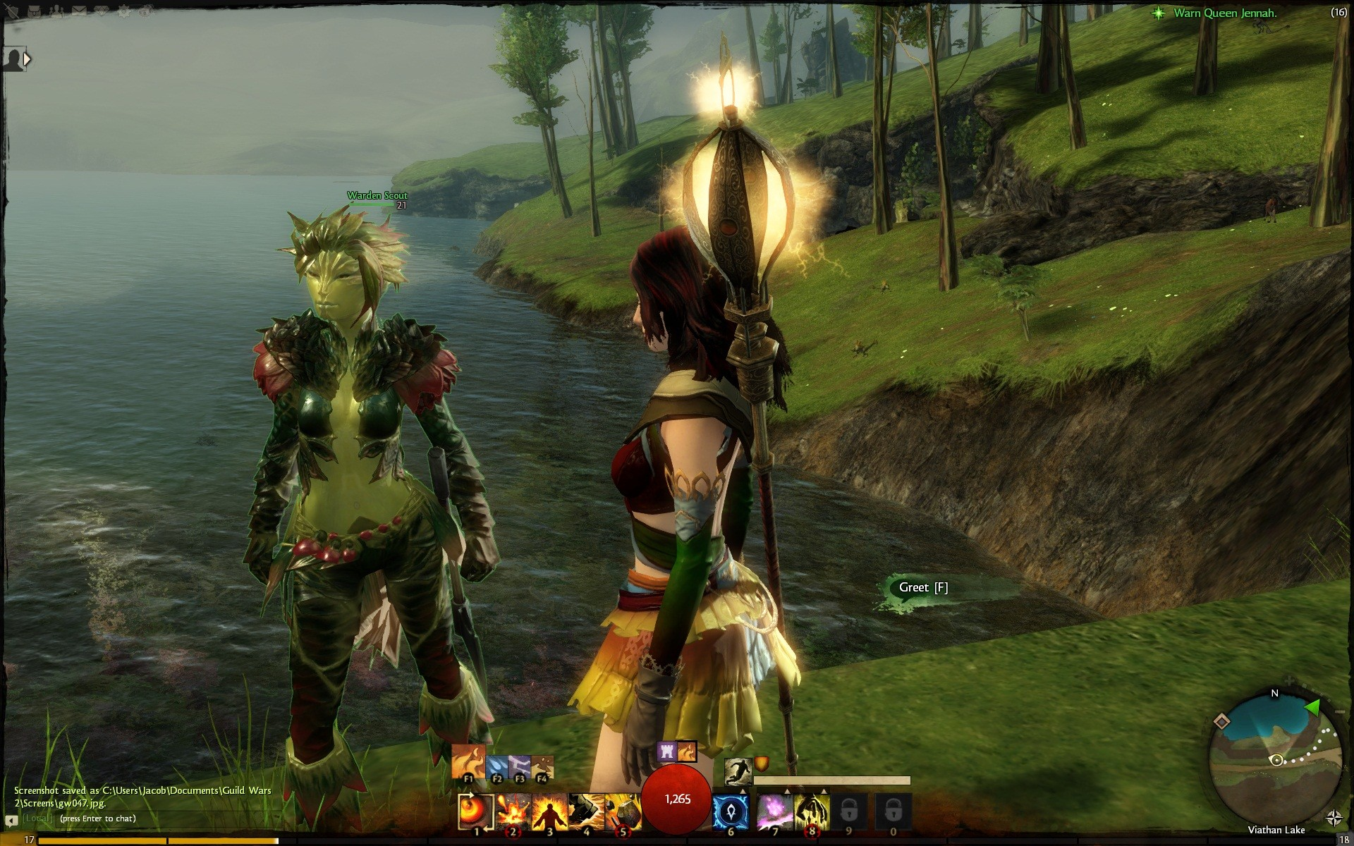 GW2 - Beautiful Sylvari