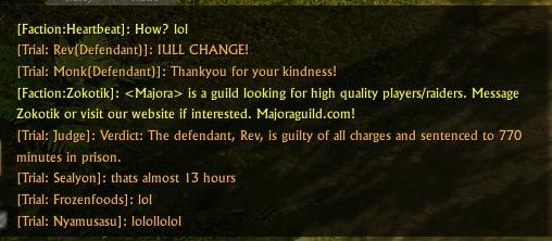 ArcheAge - Gotta ove the justice system :D