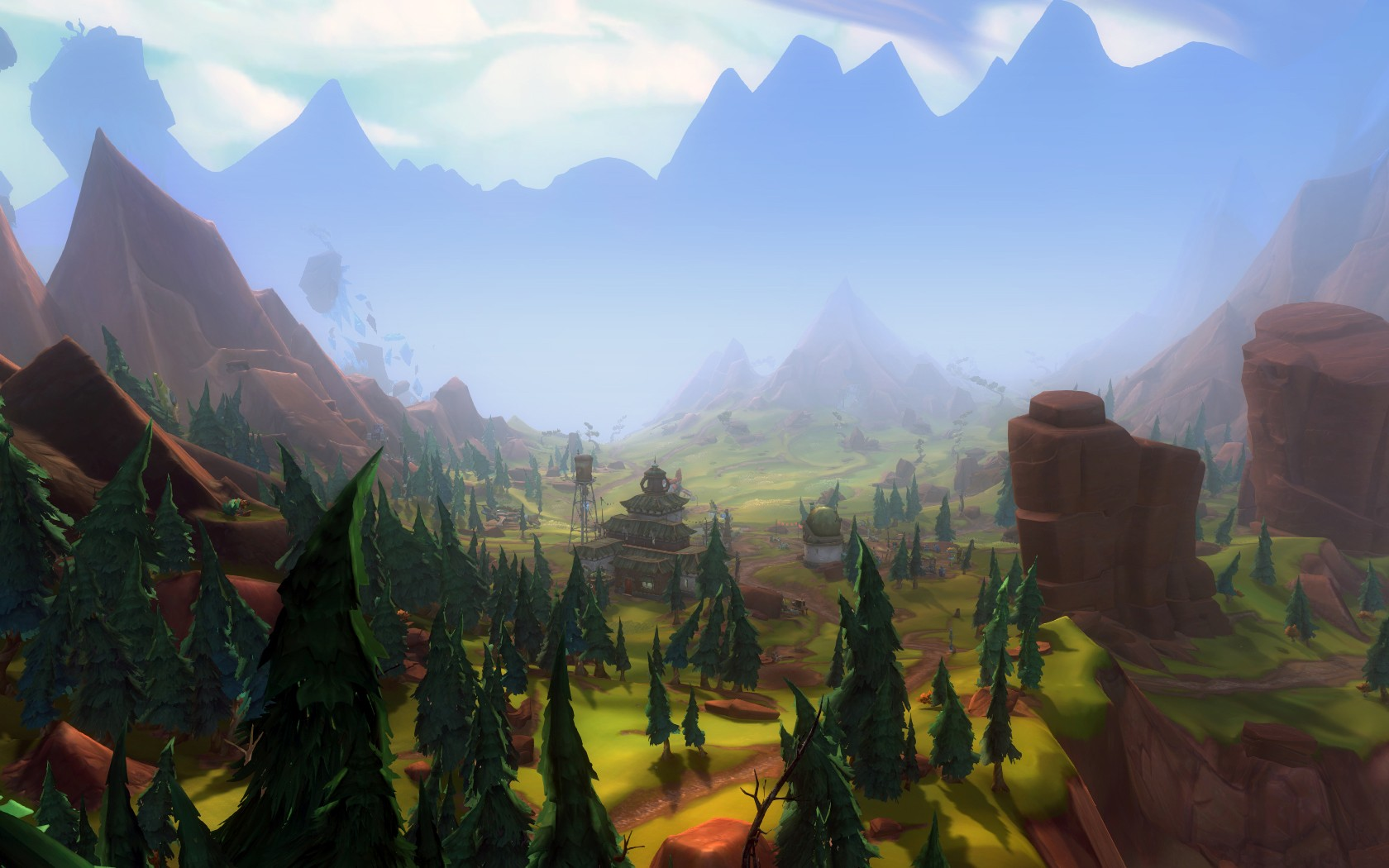 WildStar - View over Algaroc