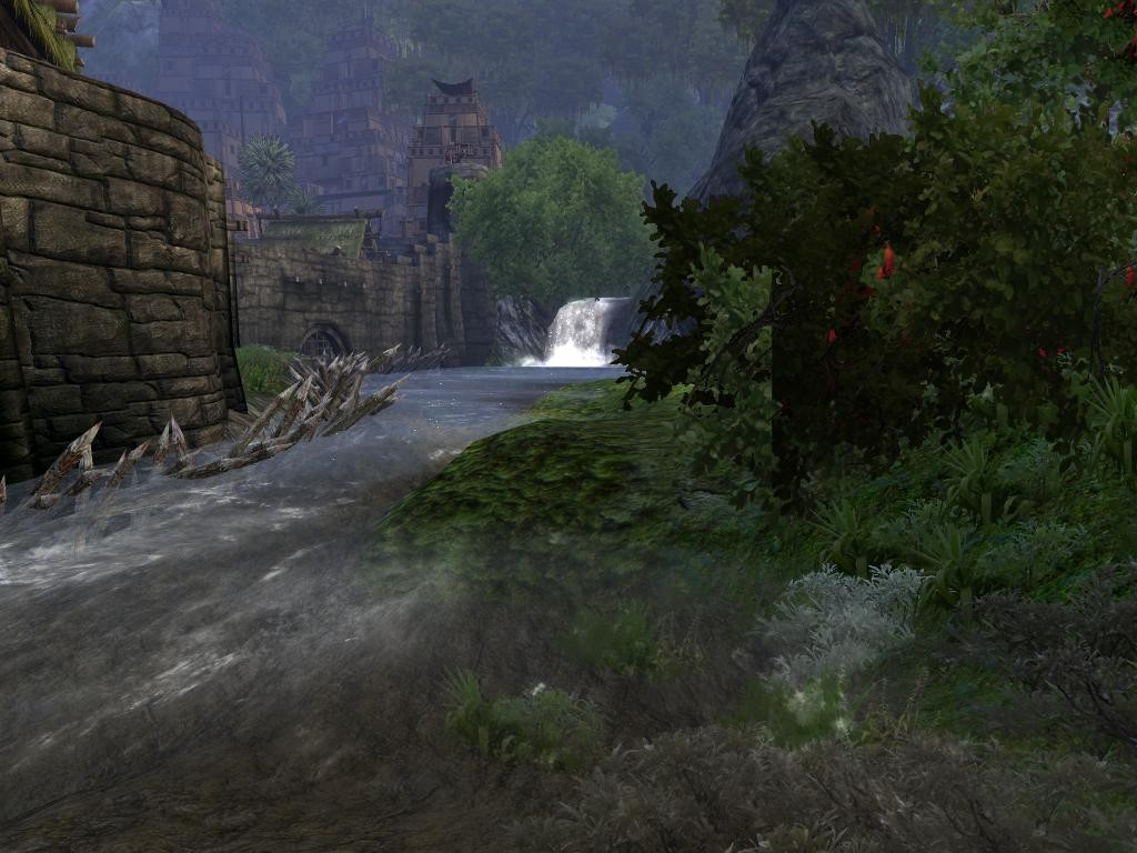 Age of Conan: Unchained - River in front of Tortage
