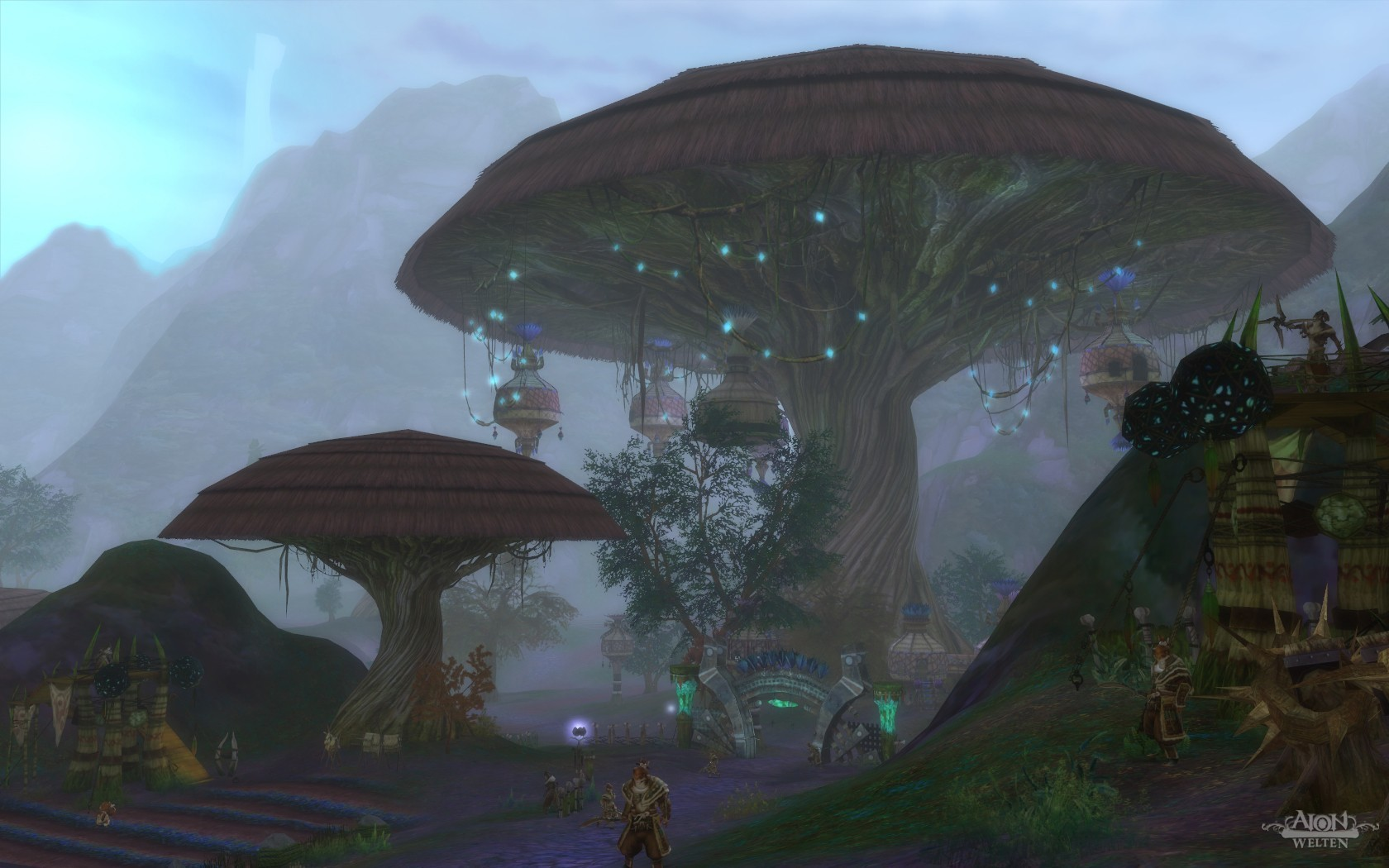 Aion - Mau's stronghold