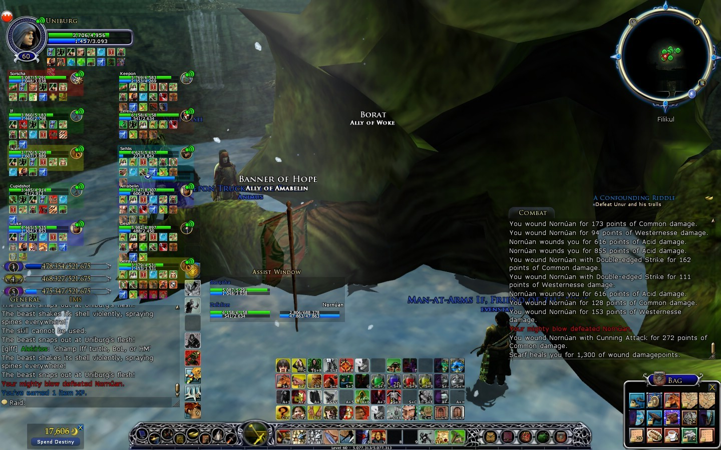 Lord of the Rings Online - Turtle Raid