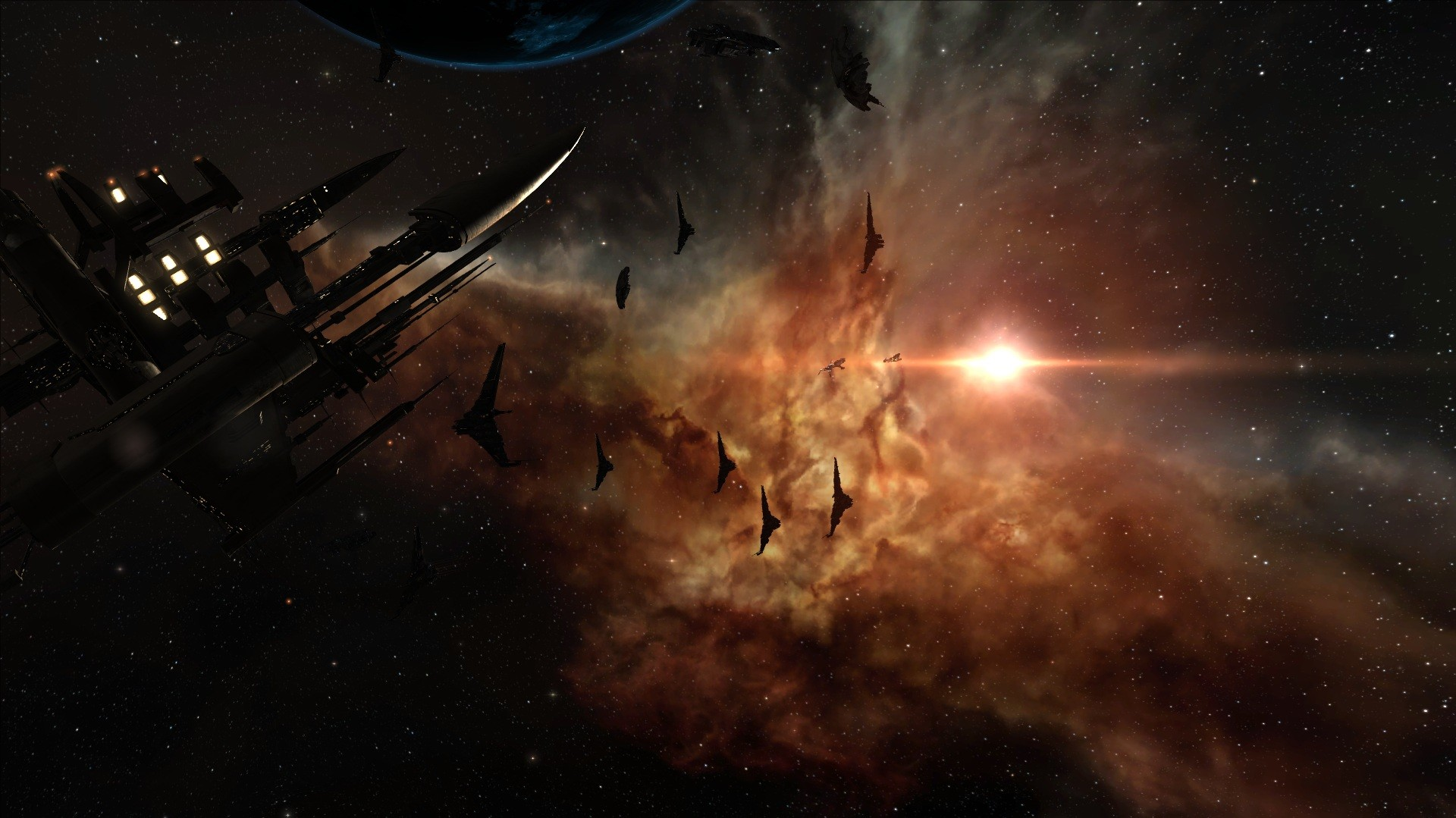 EVE Online - Morning in space