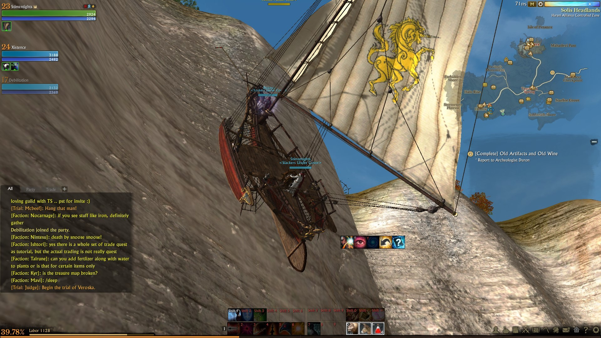 "ArcheAge - ""Argh, We be climbin' yer walls"""