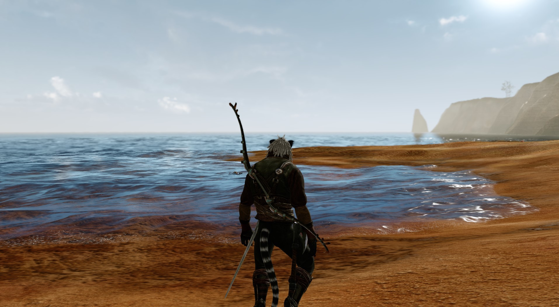 ArcheAge - Beautiful sunset at the beach!