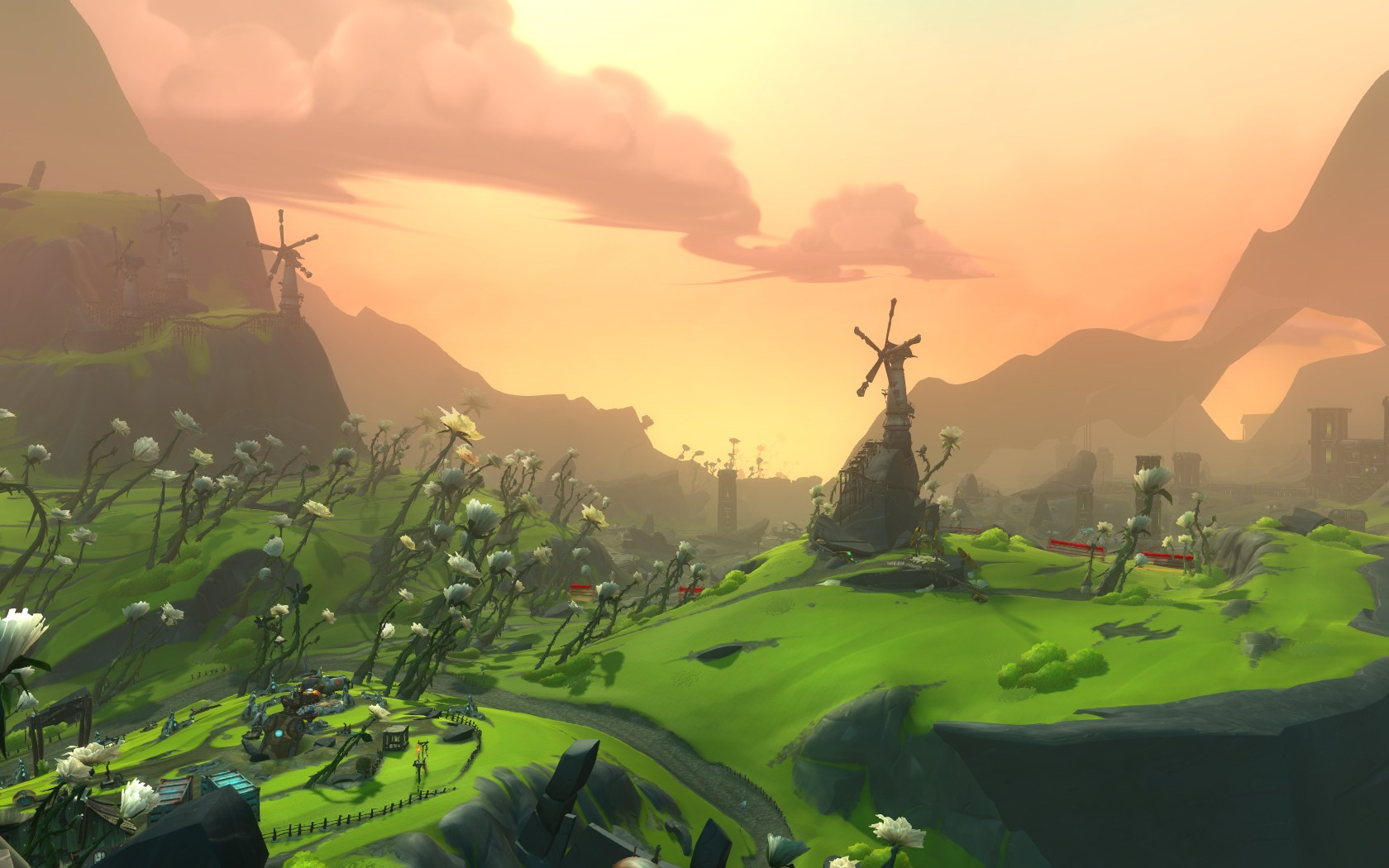 WildStar - View over Galeras