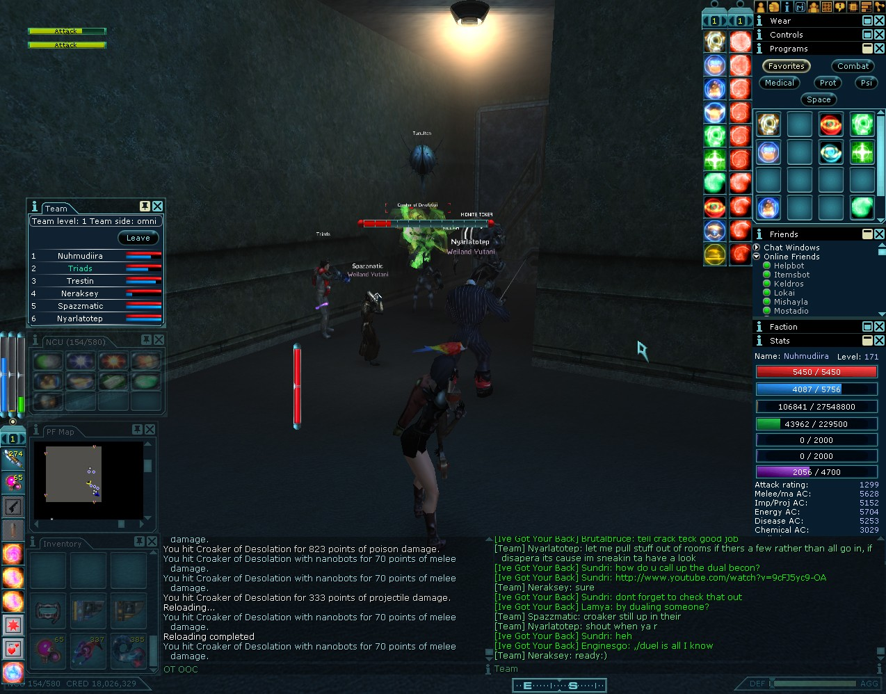 Anarchy Online - A Penumbra mission.