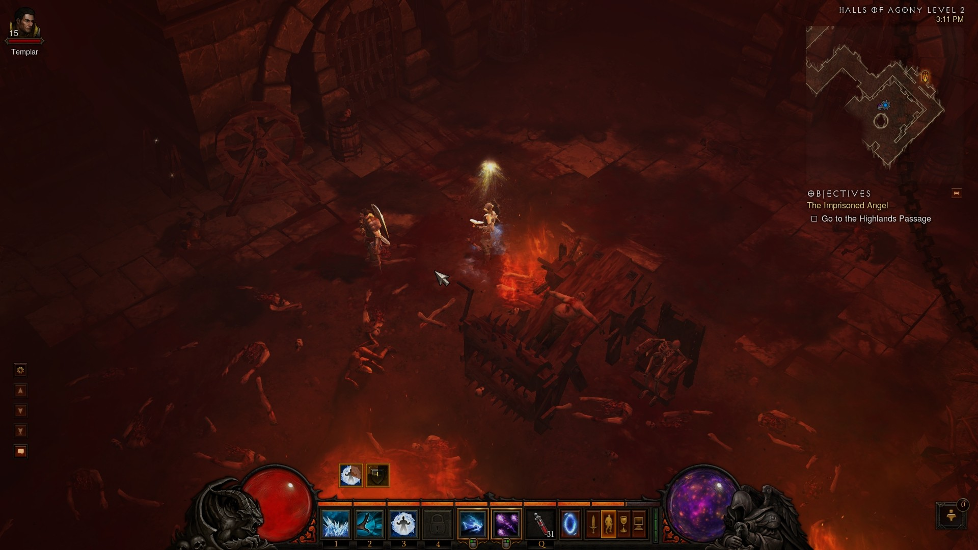 Diablo 3 - Another one! Looks like something right out of WoW, right? Right?