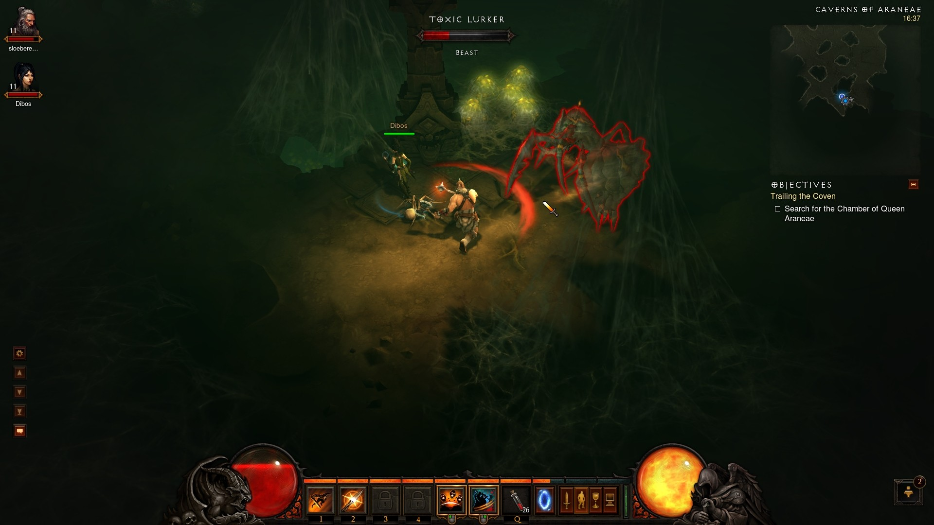 Diablo 3 - i love spiders
