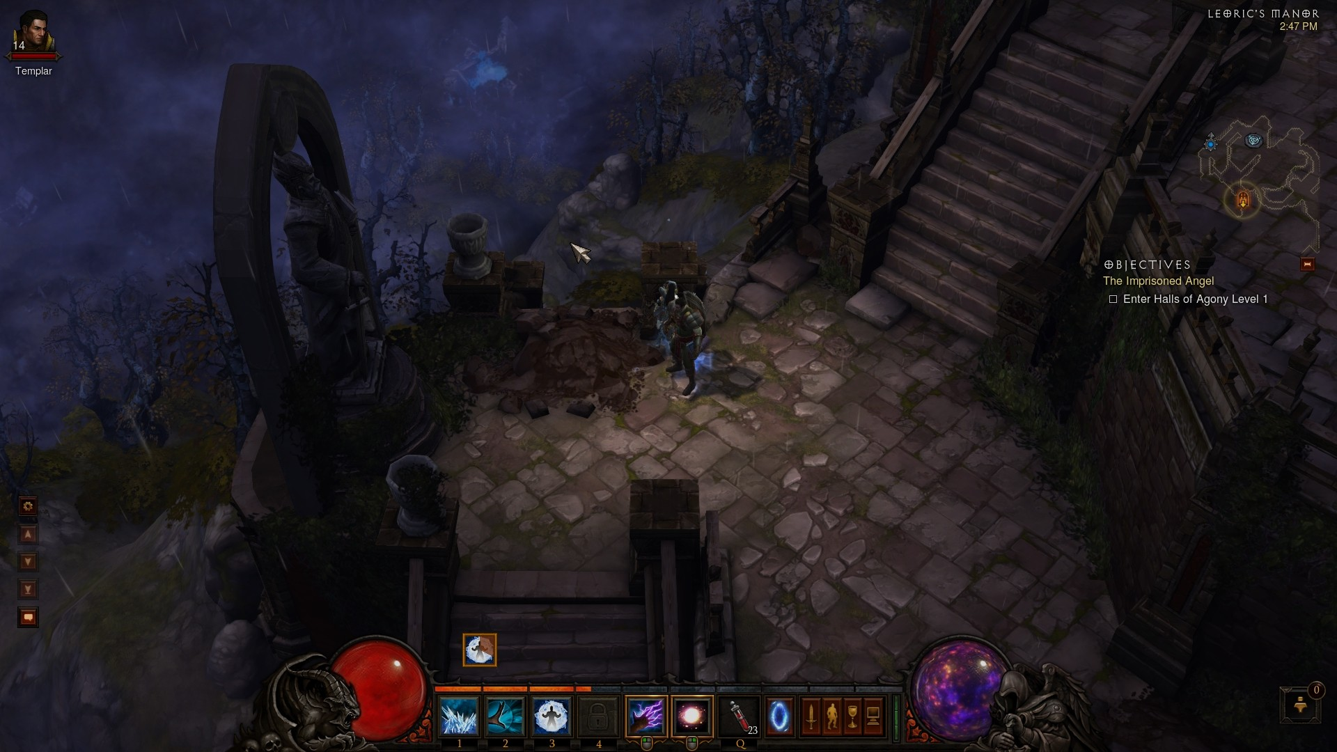 Diablo 3 - That hole looks much bigger from up here...