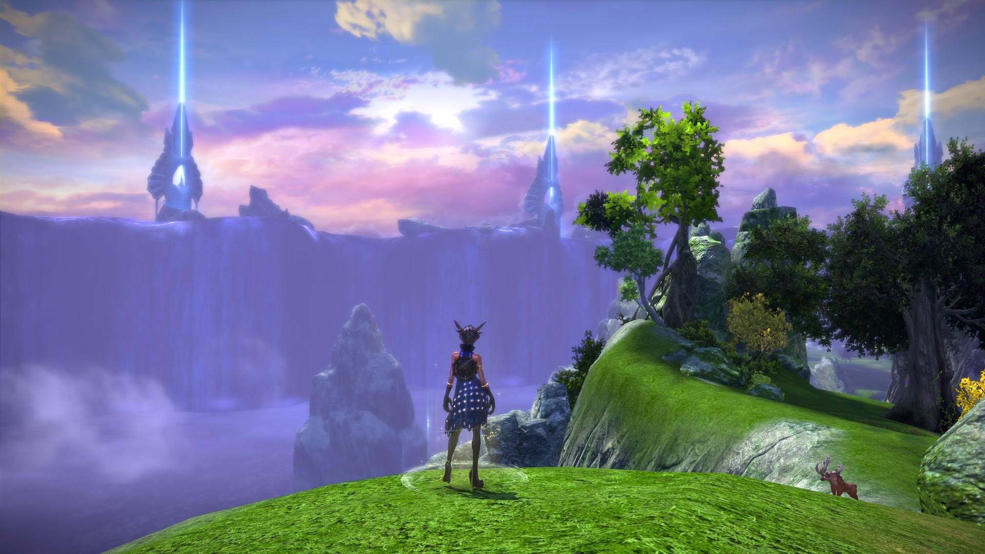 TERA - View from Island of Dawn
