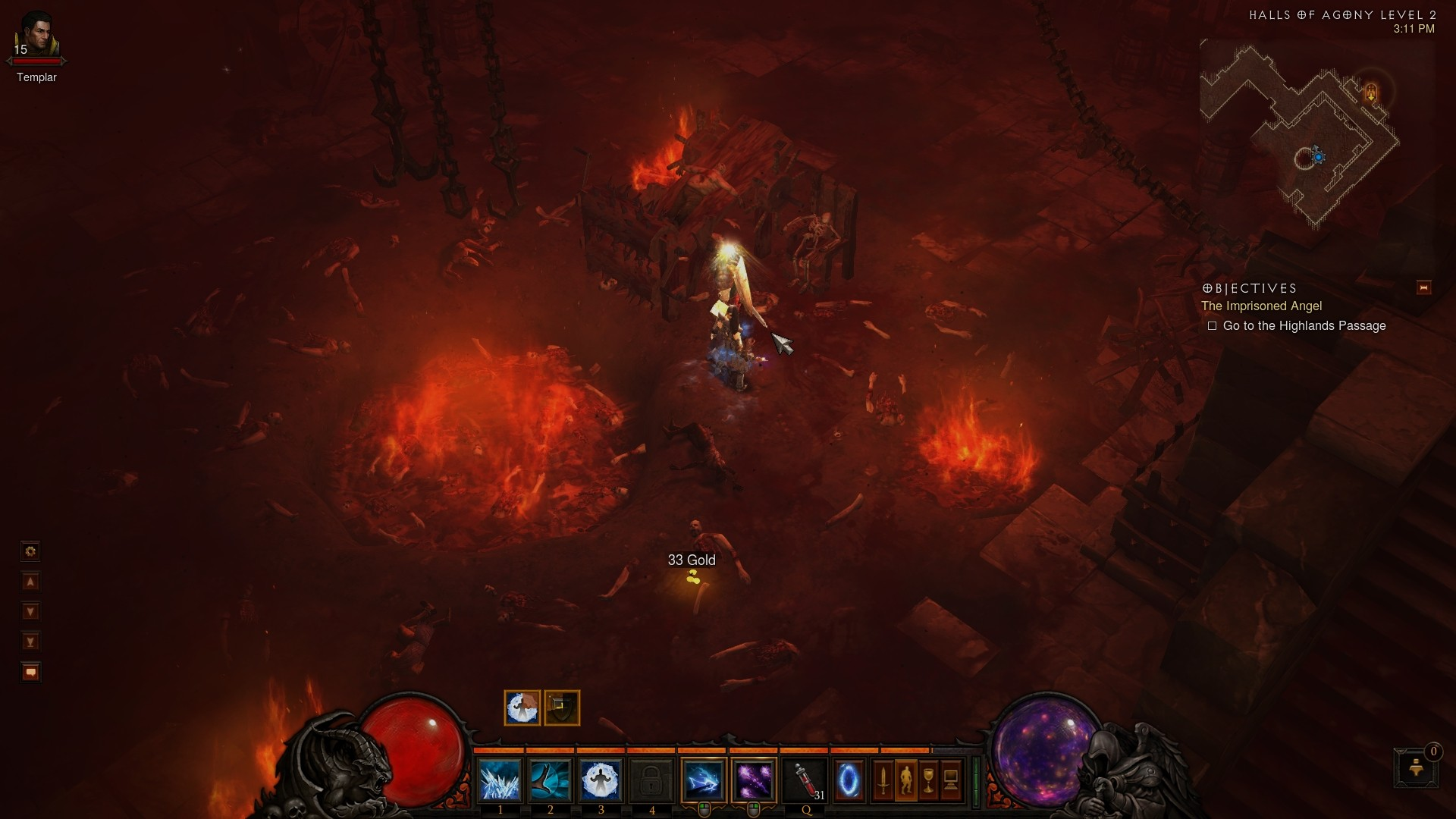 Diablo 3 - Yup, no dark, gritty, adult environments here!