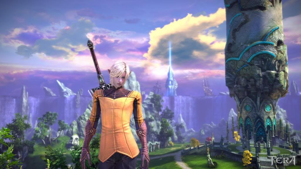 TERA - No CGI all ingame graphic :)