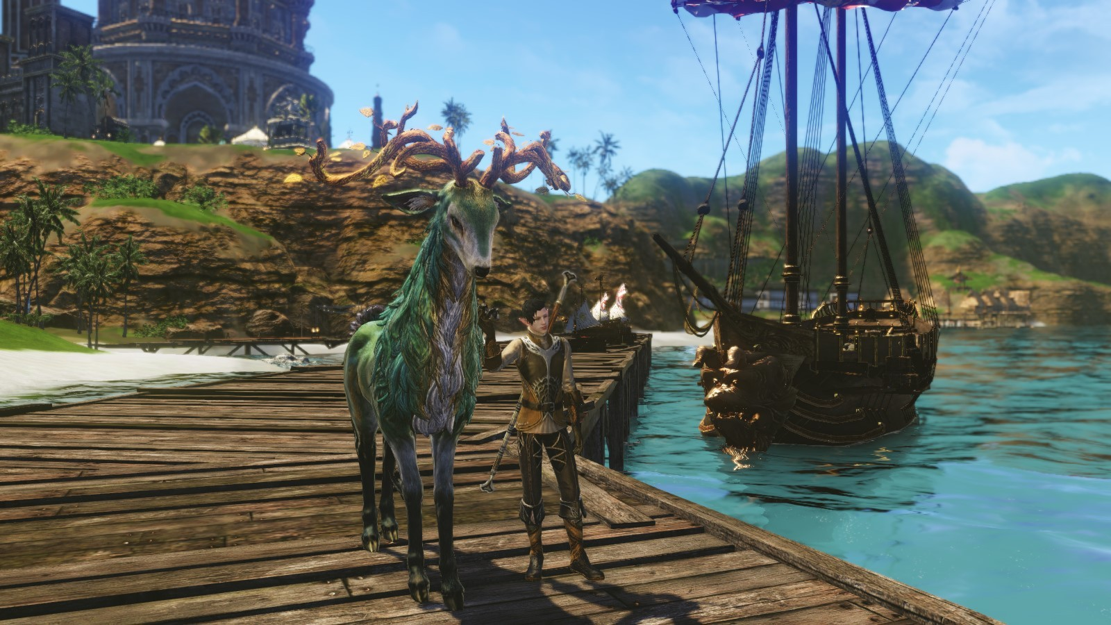 ArcheAge - My Character and His Elk