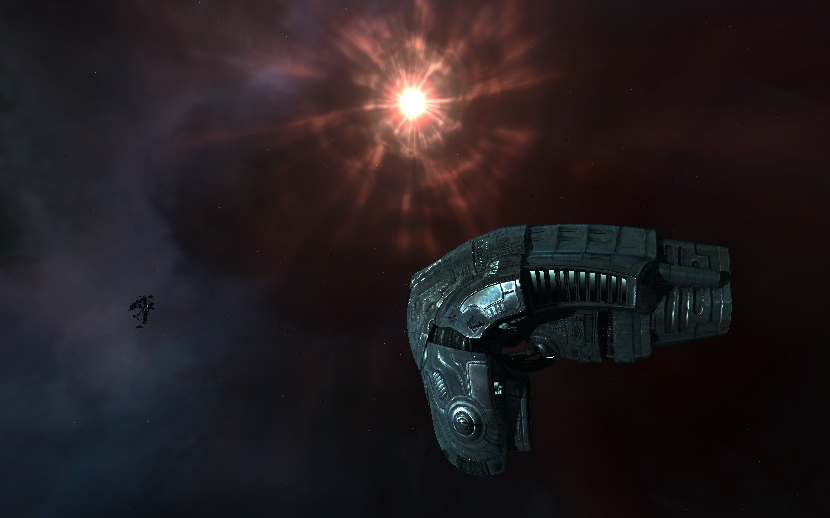 EVE Online - Vexor in Wormhole II