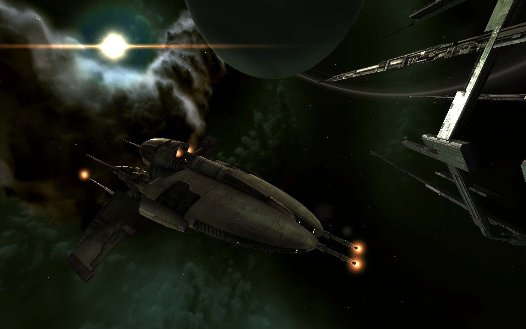 EVE Online - Amarr Shuttle 1