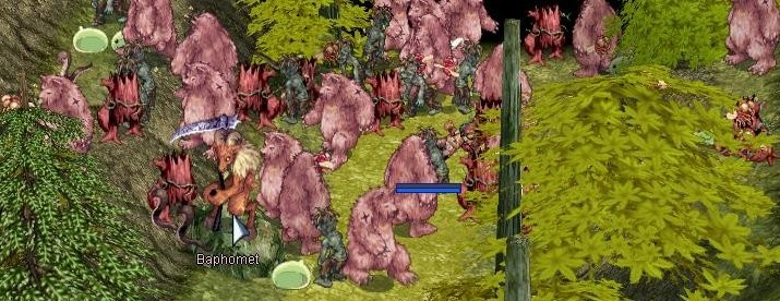 Ragnarok Online - The day everything spawned in one room