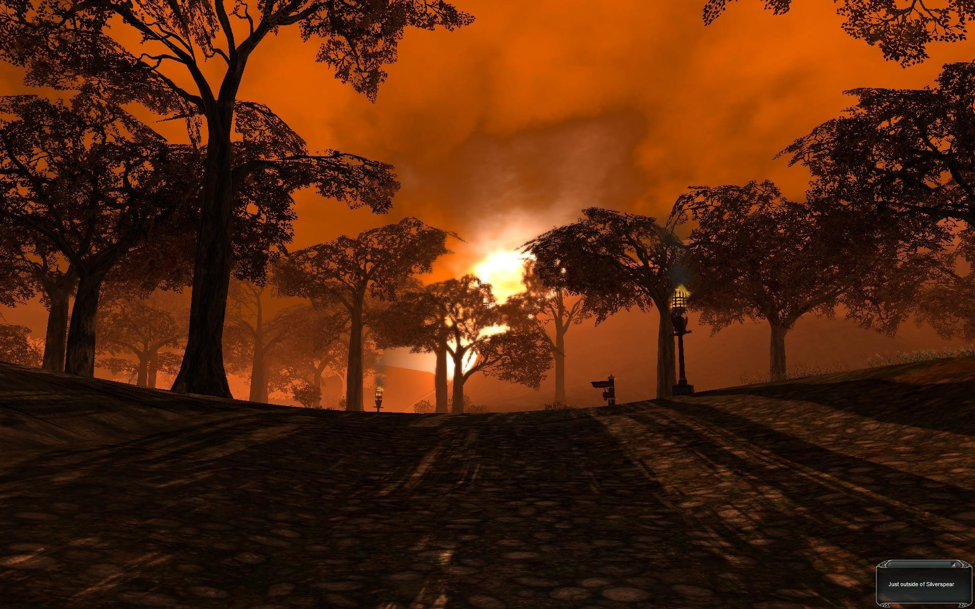Darkfall - Just outside of silverspear at dawn.