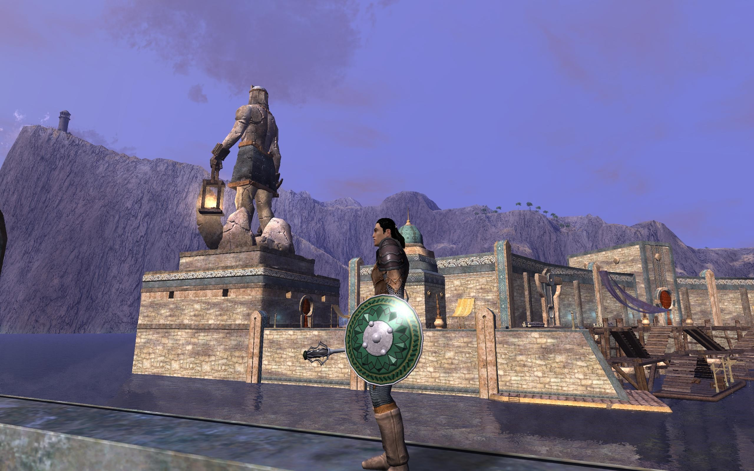 Vanguard: Saga of Heroes - Surveying the Port City of Khal