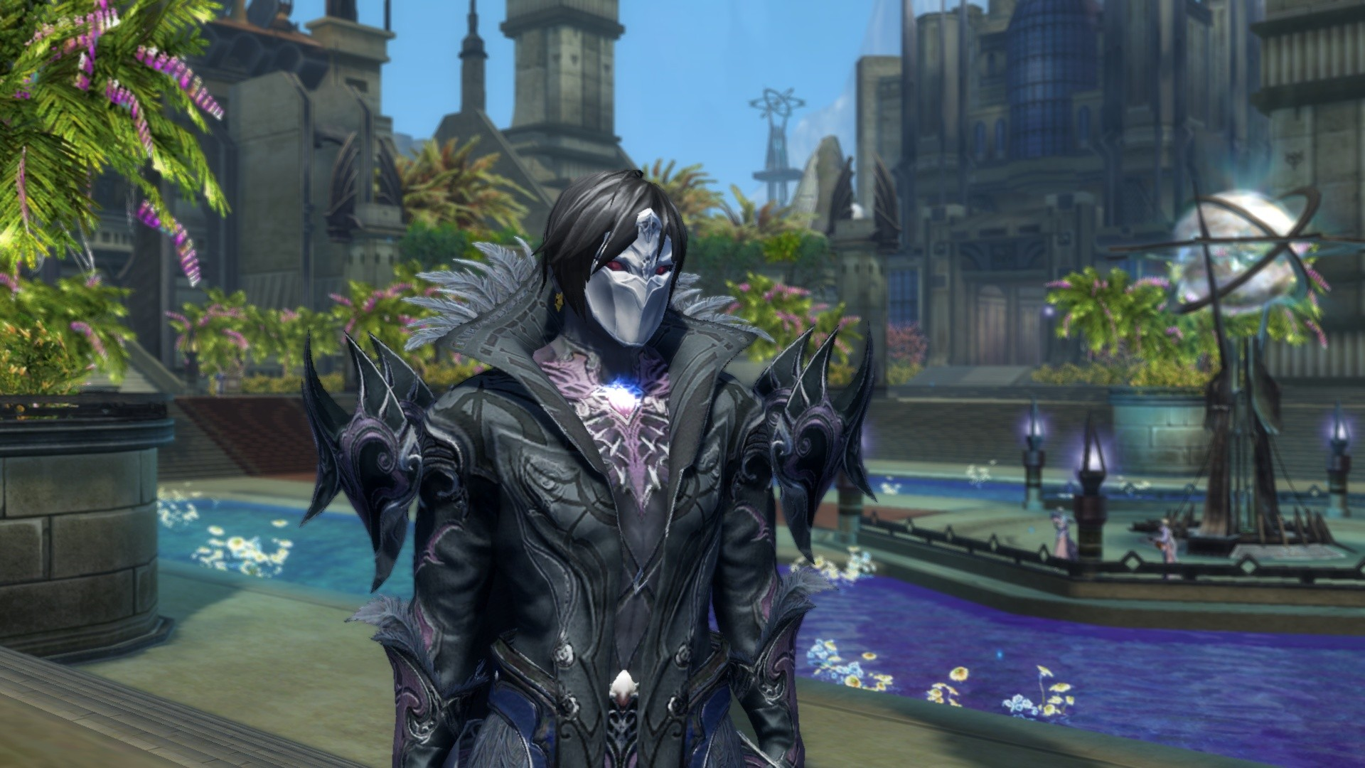 Aion - New Distance Focus Effect in 2.5 - blurs the background when zoomed on your character