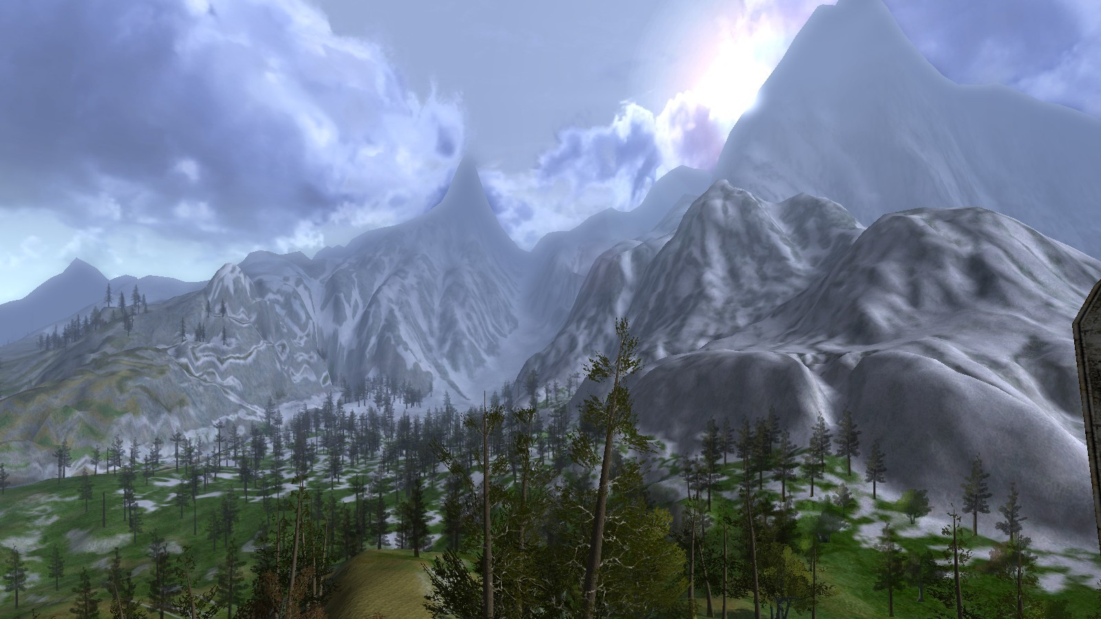 Lord of the Rings Online - Winter morning in Enedwaith