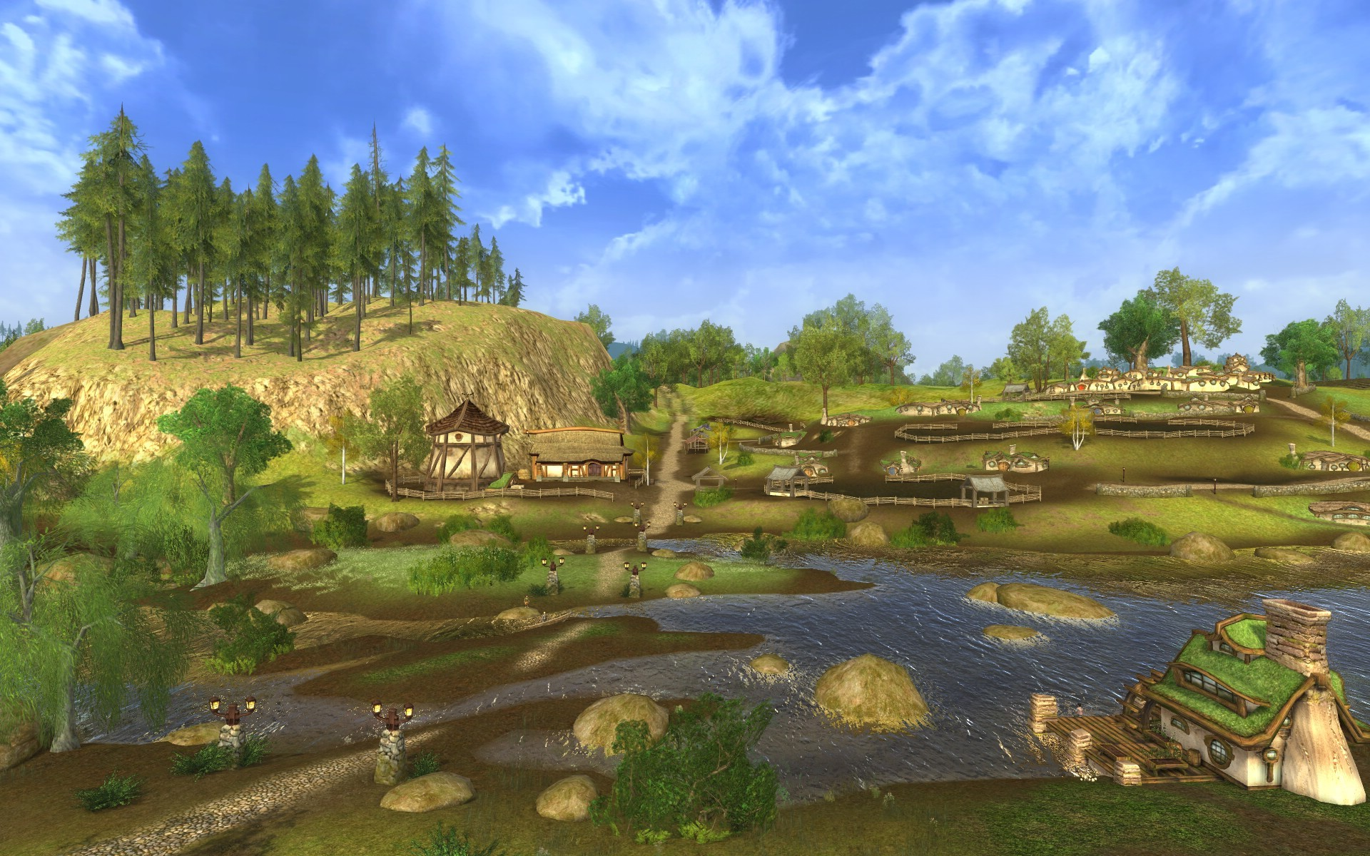 Lord of the Rings Online - The Shire?