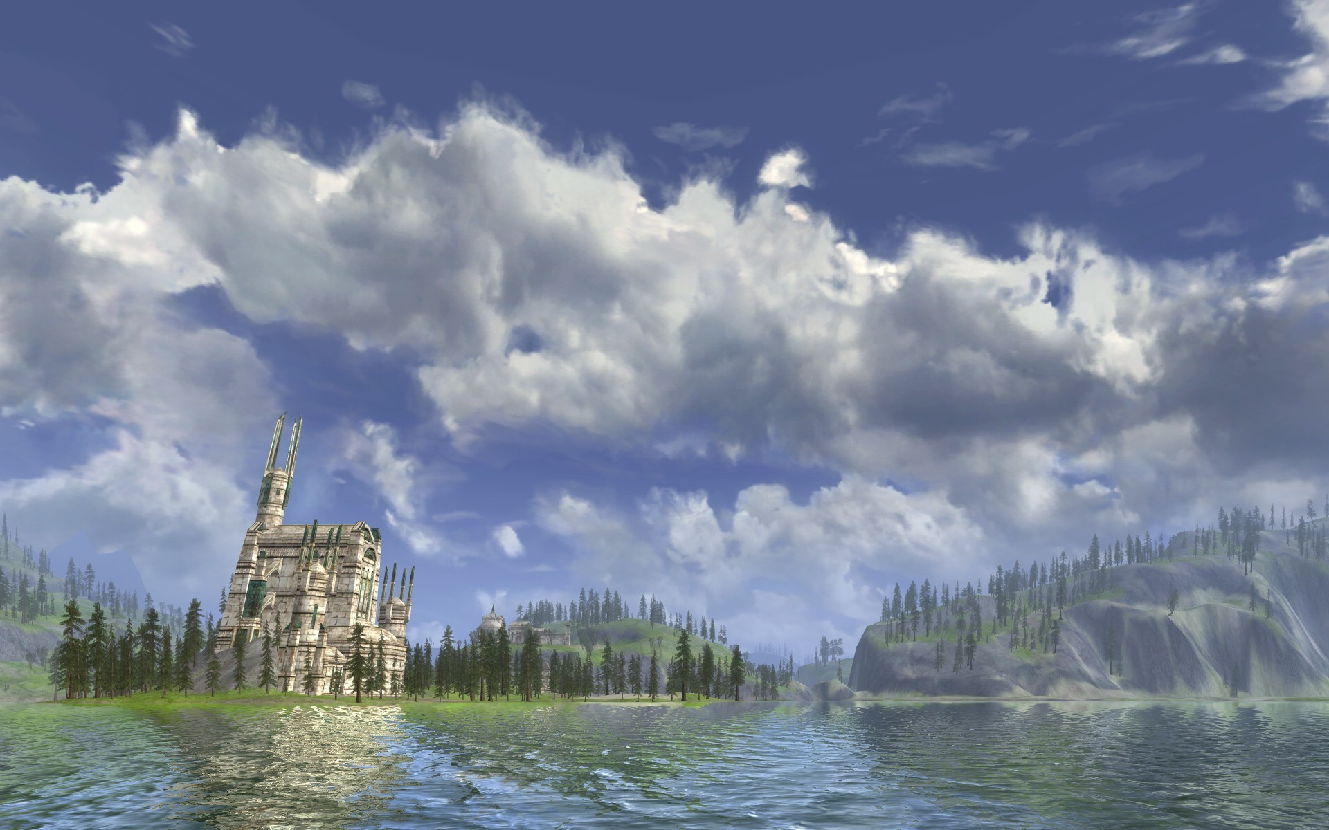 Lord of the Rings Online - Evendim Lake