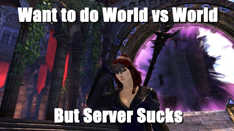 Guild Wars 2 - World vs World Problems