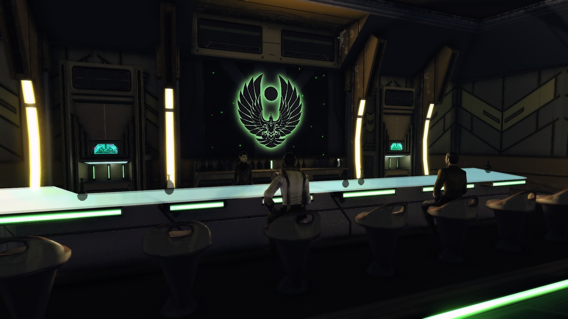 Star Trek Online - No one on board likes the bartender...