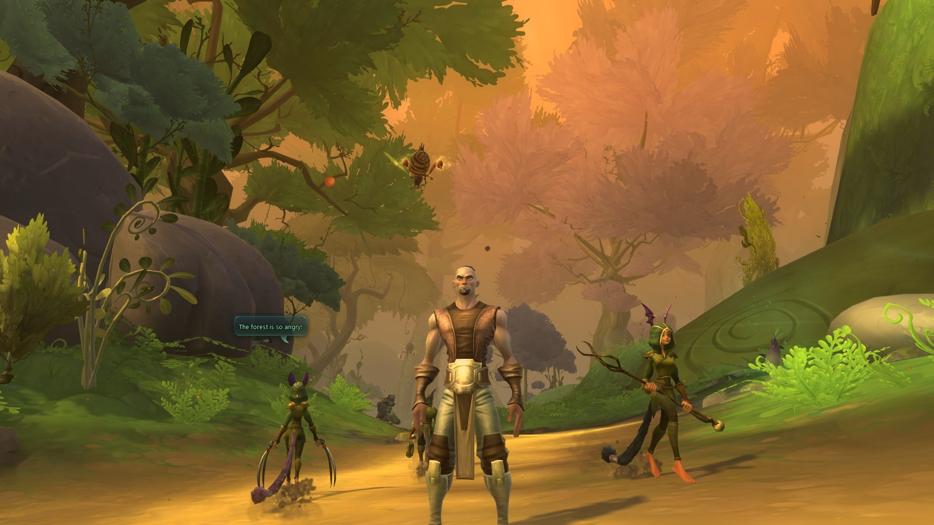 WildStar. The forest is so angry...