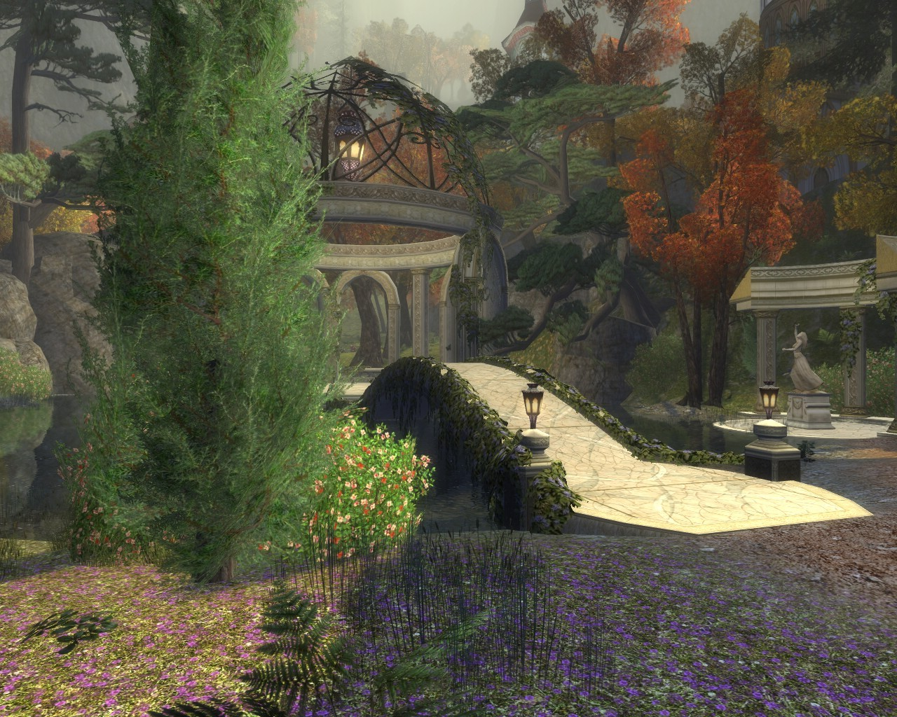 Lord of the Rings Online - Imlad Gelair - Elves of Rivendell Reputation Area