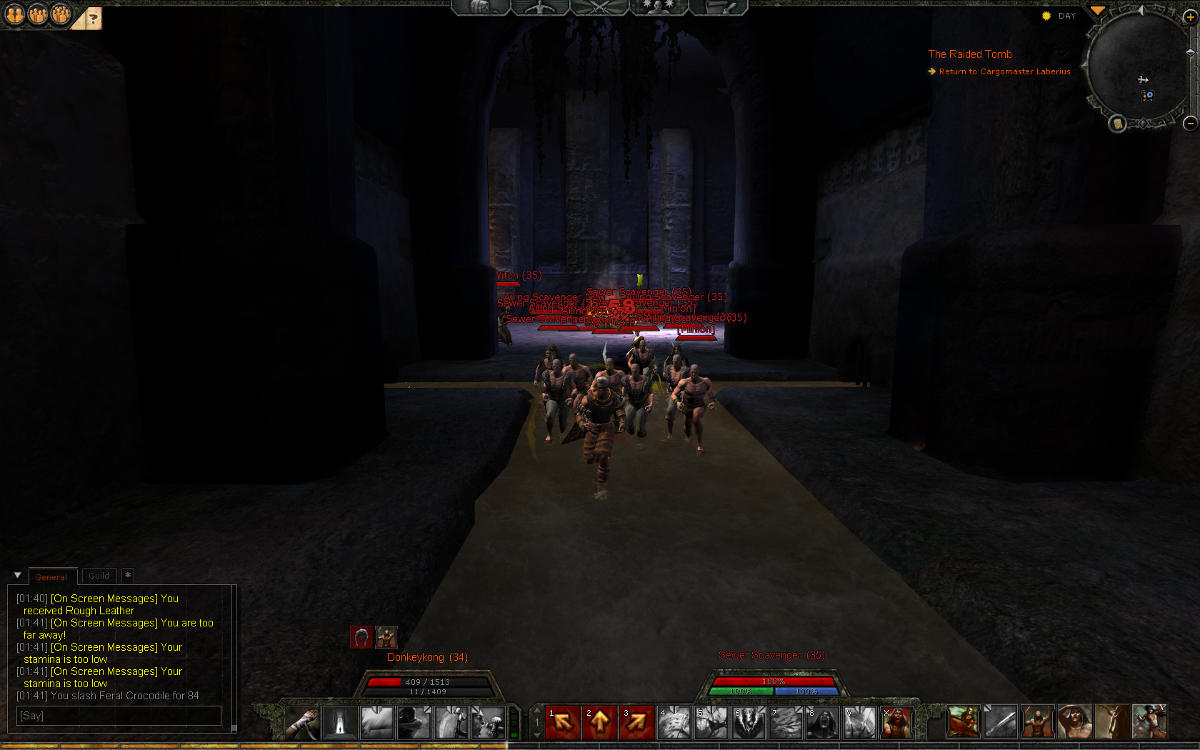 Age of Conan: Unchained - I'm good at pulling mobs :)