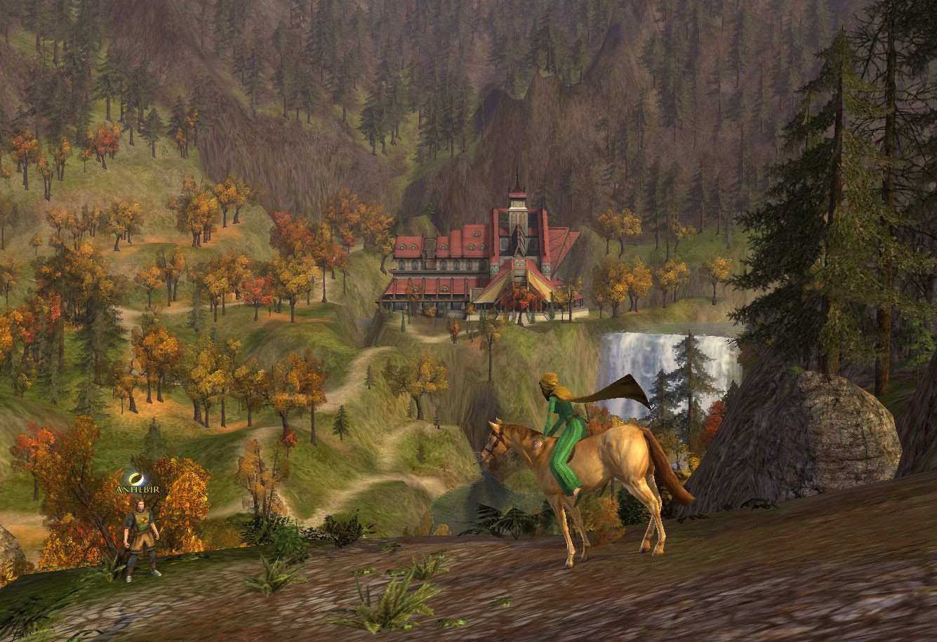 Lord of the Rings Online - Rivendell, first sight